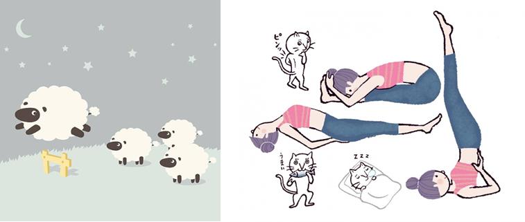 不眠とヨガ