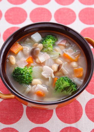 更年期障害の症状緩和 大豆のあったかスープ