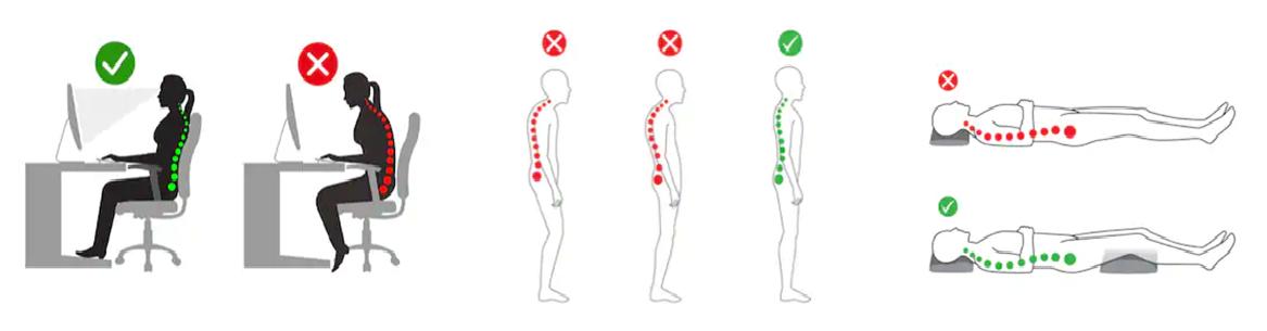 姿勢と腰痛について